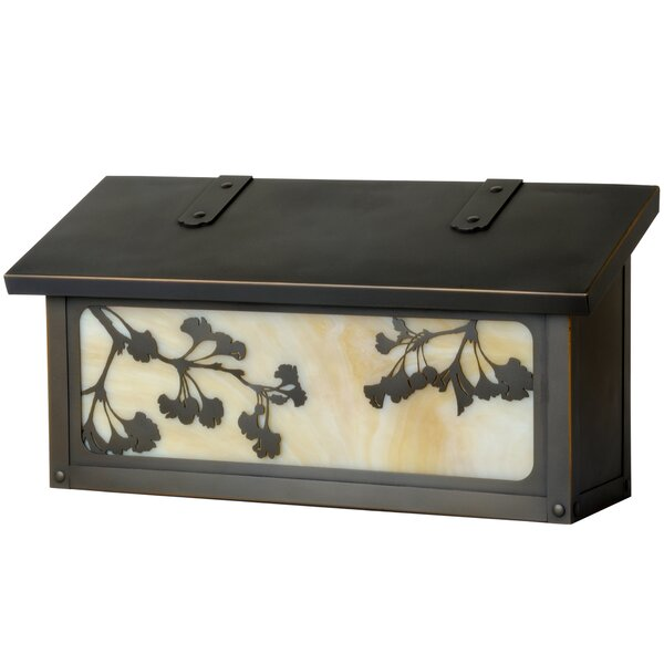 Ginkgo Wall Mounted Mailbox by America's Finest Lighting Company
