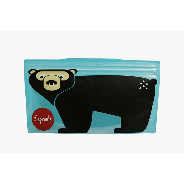 Bear Snack Bag (Set of 2) by 3 Sprouts