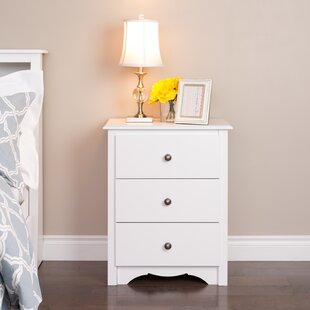 Sybil Tall 3 Drawer Bachelor's Chest