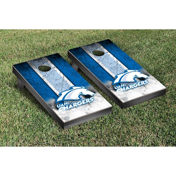 NCAA Vintage Wooden Cornhole Game Set by Victory Tailgate