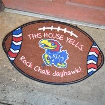 NCCA Football Indoor/Outdoor Doormat by Glory Haus