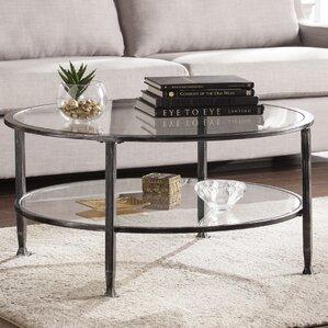 clear coffee tables you'll love | wayfair