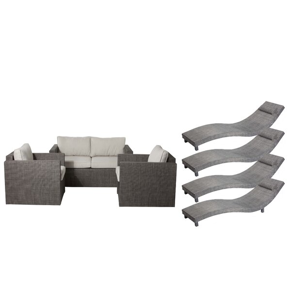 Carrigan 7 Piece Sofa Set with Cushions by Orren Ellis