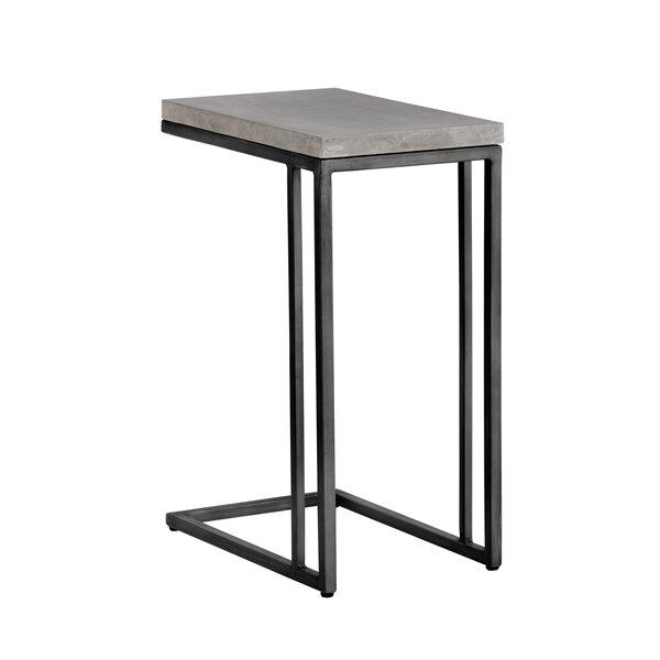 Pettis C-Shaped End Table By Orren Ellis