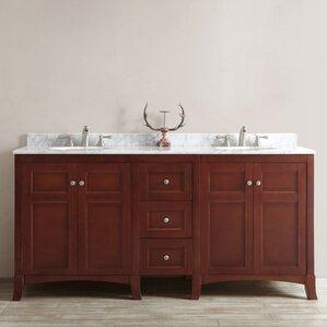 Double Vanity Bath Runner 72 inch vanities you'll love | wayfair