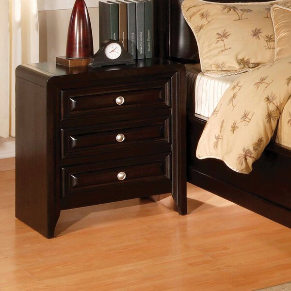Winsor 3 Drawer Nightstand by Hokku Designs