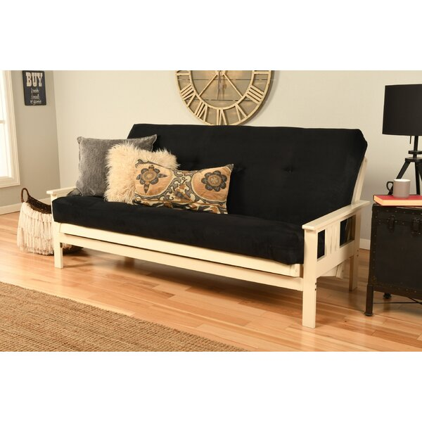 Skelly Full Loose Back Futon And Mattress By Red Barrel Studio
