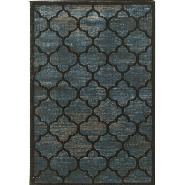 Belper Blue/Gray Area Rug by House of Hampton