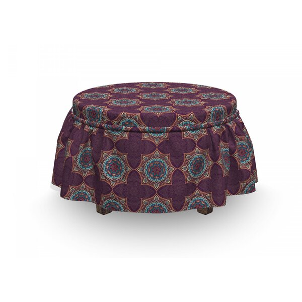 Culture Ottoman Slipcover (Set Of 2) By East Urban Home