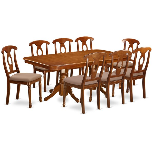 Pillsbury Traditional 9 Piece Dining Set by August Grove