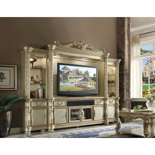 Review Kaitlin Entertainment Center For TVs Up To 88