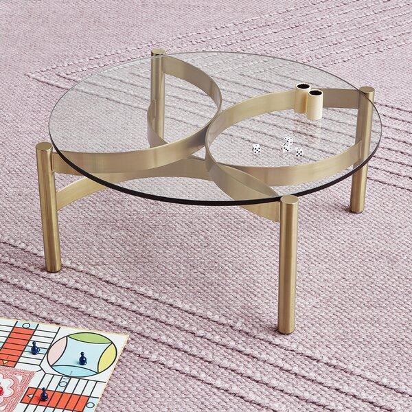 Compass Glass Coffee Table by Gus* Modern Gus* Modern