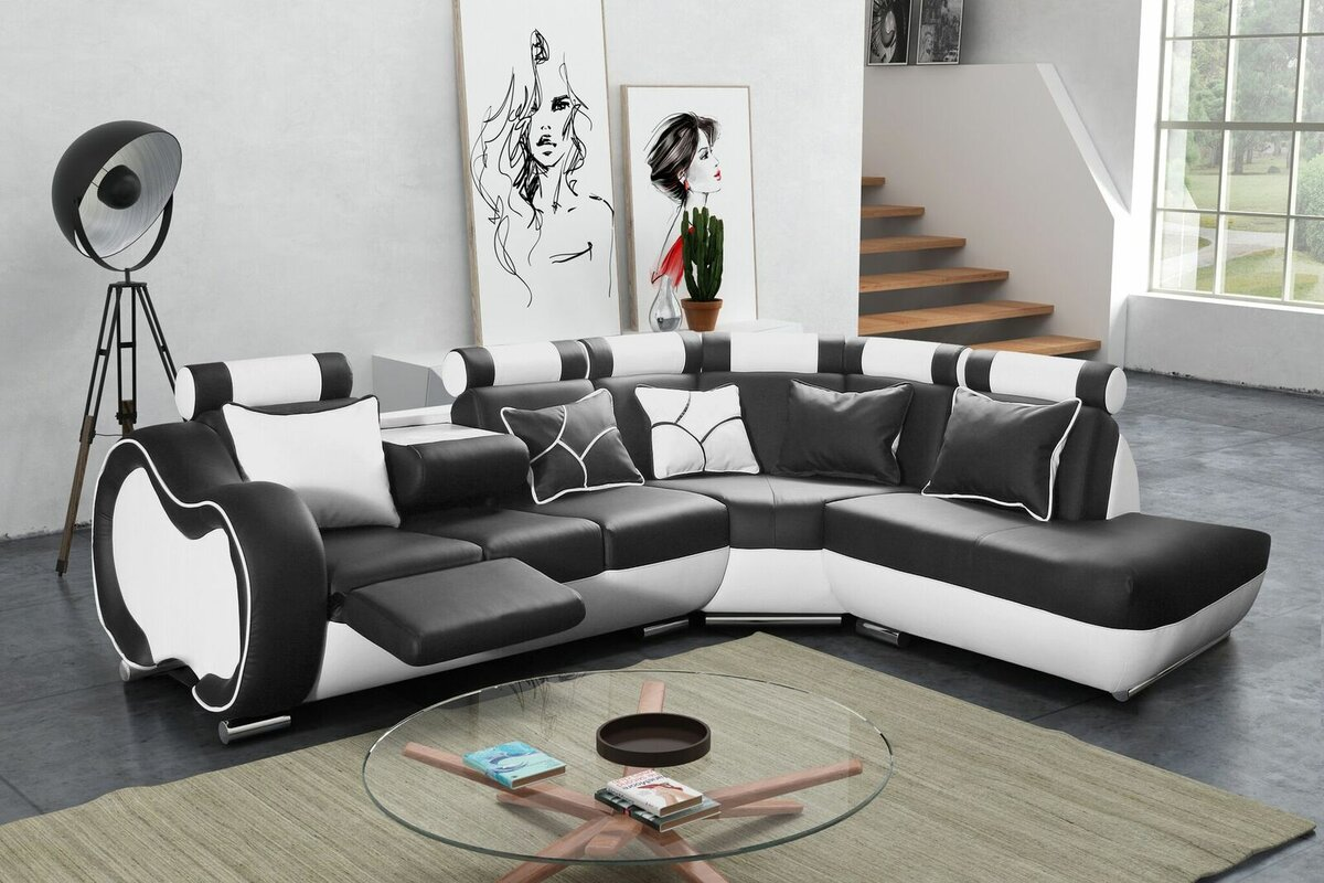 hokku designs ecksofa devola mit relaxfunktion bewertungen. Black Bedroom Furniture Sets. Home Design Ideas