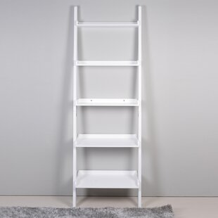 5 Tier Leaning Bookcase ViscoLogic