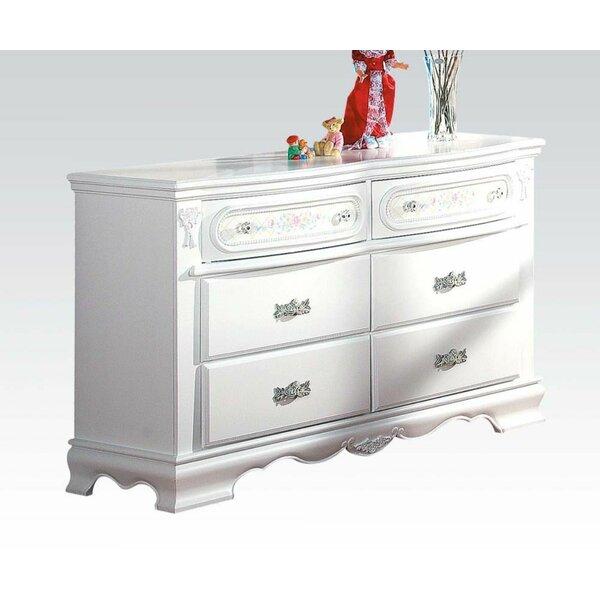 Circe 6 Drawer Double Dresser by Rosalind Wheeler
