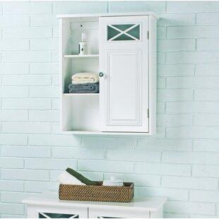 Wall Mounted Bathroom Cabinet. Coddington with Single Door and Shelves 20  W x 25 H Wall Mounted Cabinet Bathroom Storage Birch Lane
