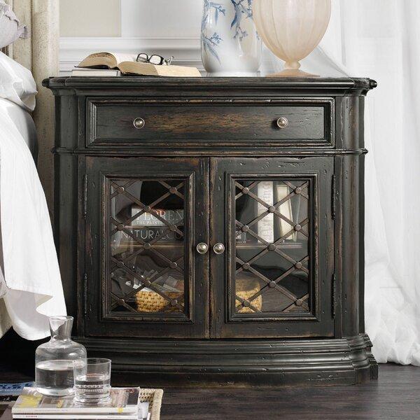 Auberose 1 Drawer Nightstand by Hooker Furniture