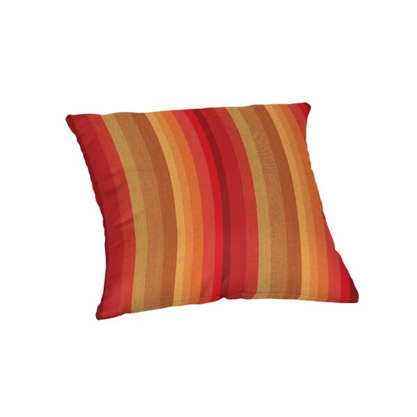 Rysing Sunbrella Stripe Outdoor Throw Pillow by Bay Isle Home