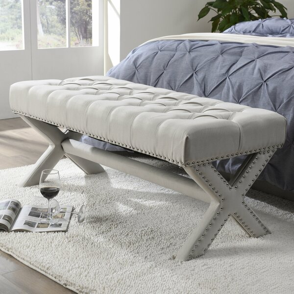 Lovell Upholstered Bench by Inspired Home Co.