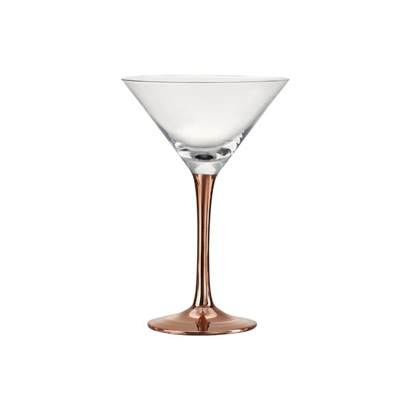 Gage Martini Glass (Set of 4) by Mint Pantry