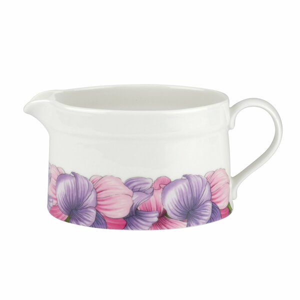 Botanic Blooms Sweet Pea Sauce Gravy Boat by Portmeirion
