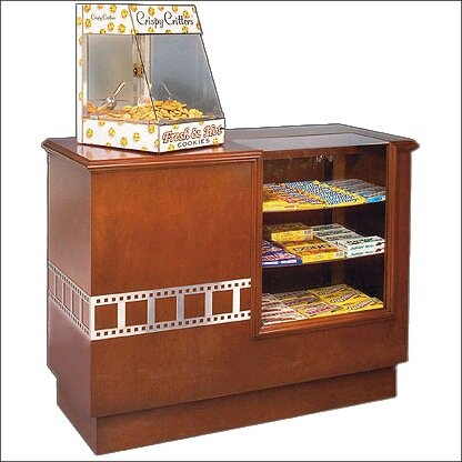 Hardwood Concession Counter by Bass