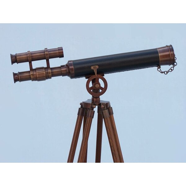 Griffith Astro Refracting Telescope by Handcrafted Nautical Decor