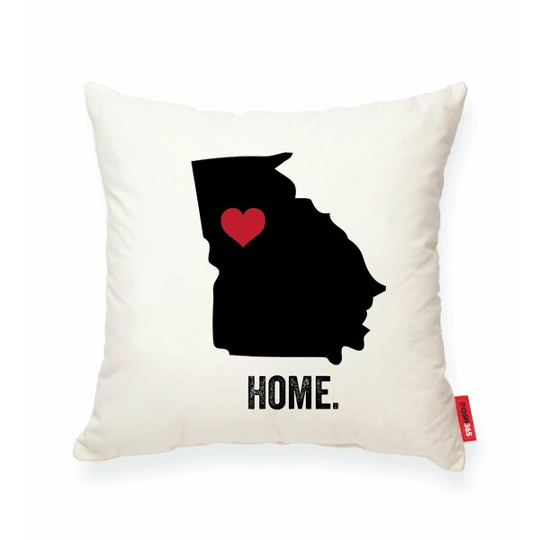Pettry Georgia Cotton Throw Pillow by Wrought Studio