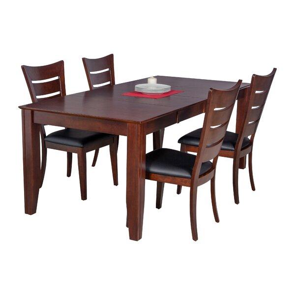 Avangeline Traditional 5 Piece Wood Dining Set by Gracie Oaks