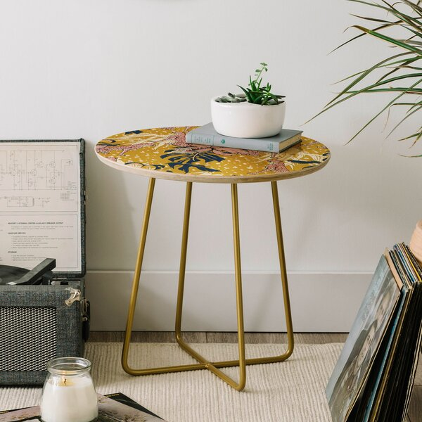Marta Barragan Camarasa Animals End Table by East Urban Home