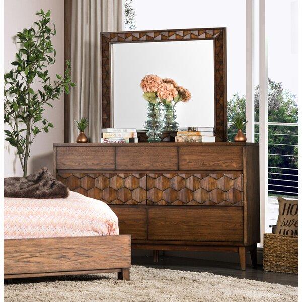 Keefe Transitional 7 Drawer Dresser by Bloomsbury Market