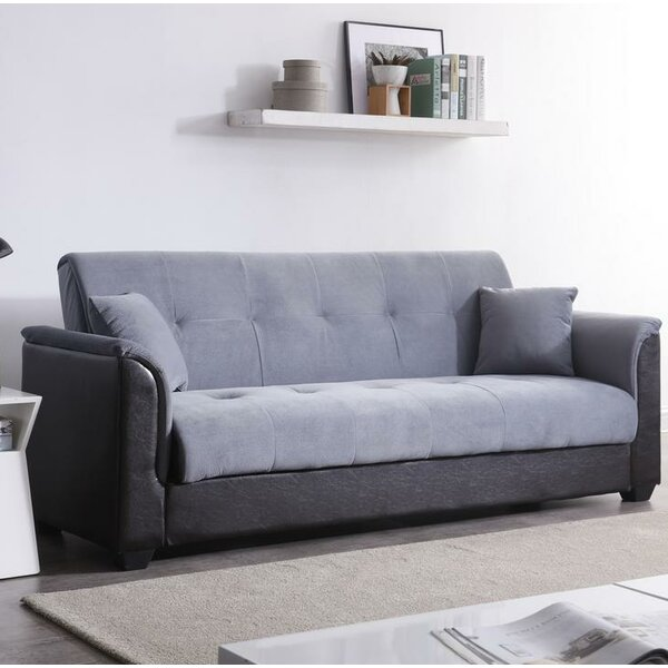 Brick Champion Convertible Sofa by Ebern Designs