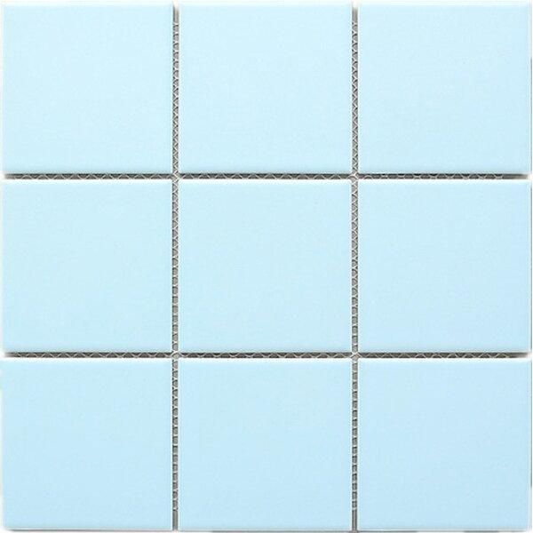 Cloud 4 x 4 Porcelain Tile in Blue by Multile