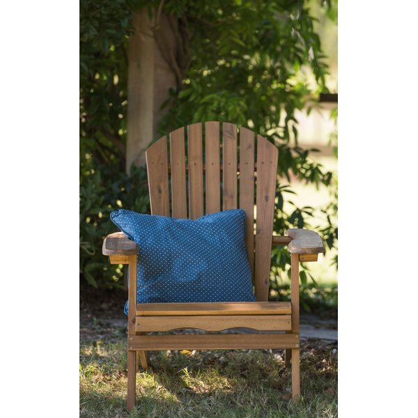 Albright Wood Folding Adirondack Chair by Millwood Pines Millwood Pines