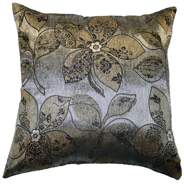 Essex Jacquard Throw Pillow by Three Posts