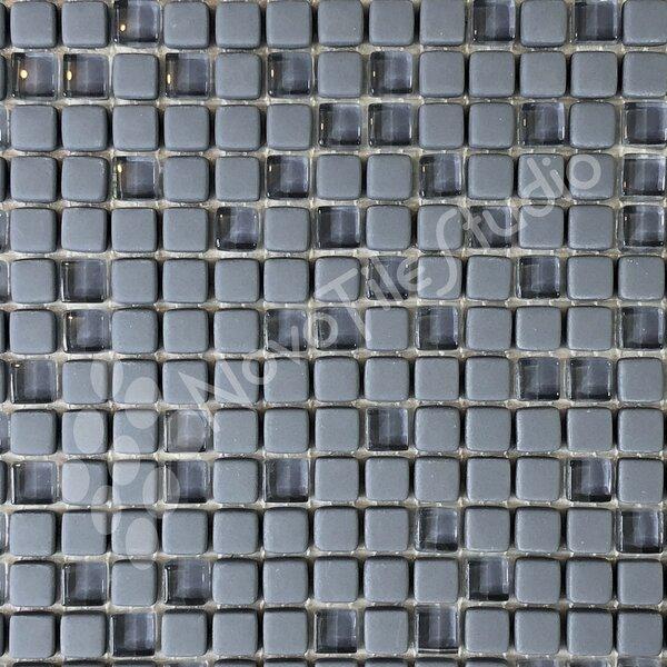 Carezza 0.4 x 0.4 Mixed Mosaic Tile in Gray by NovoTileStudio