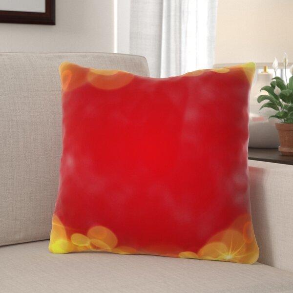 Moraine Background Indoor/Outdoor Canvas Throw Pillow
