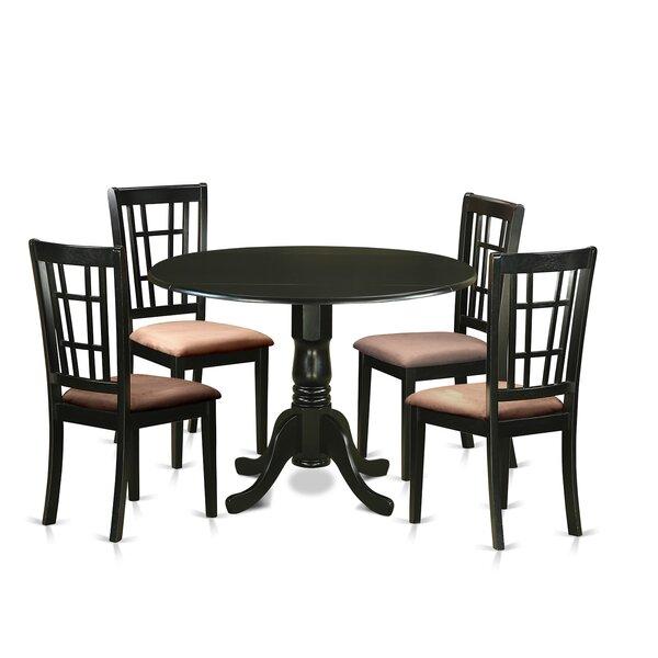 Spruill 5 Piece Extendable Dining Set