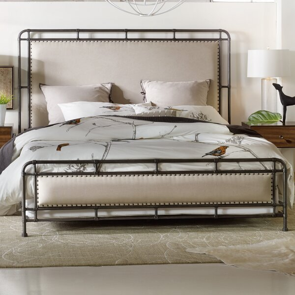 Studio 7H Upholstered Panel Bed by Hooker Furniture