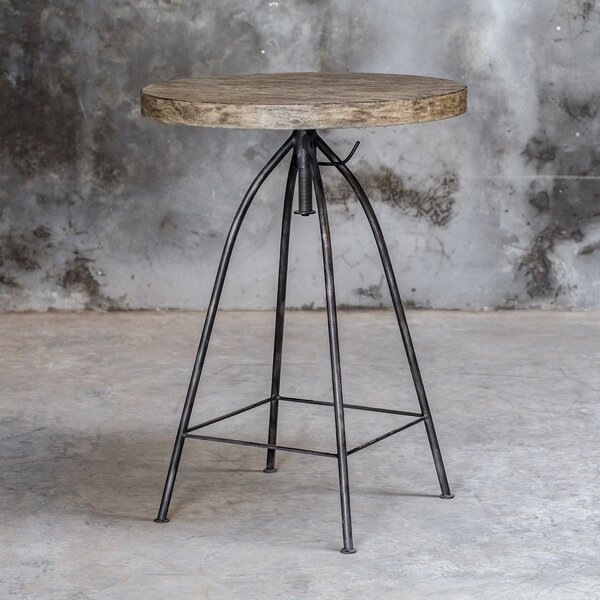 Mariah Adjustable Pub Table By 17 Stories Find