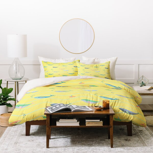 Hello Sayang 3 Piece Duvet Set by East Urban Home