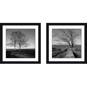 'To The End' 2 Piece Framed Photographic Print Set by Loon Peak