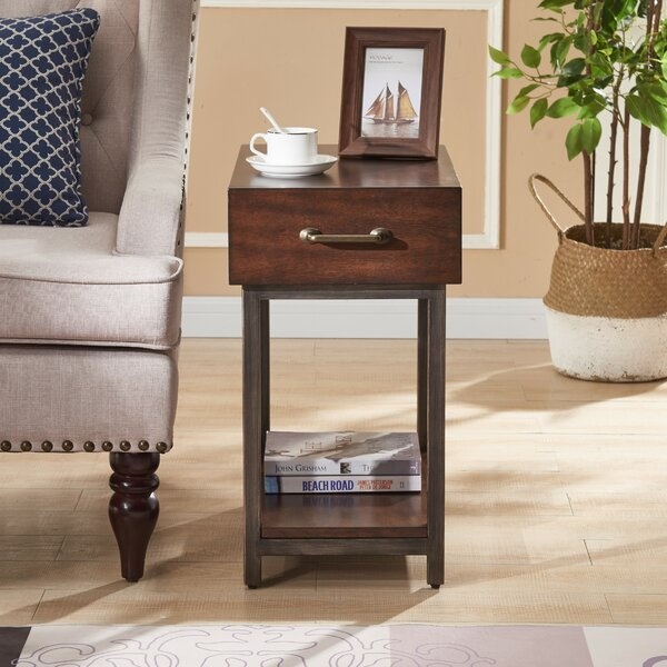 Ryan End Table With Storage By Canora Grey