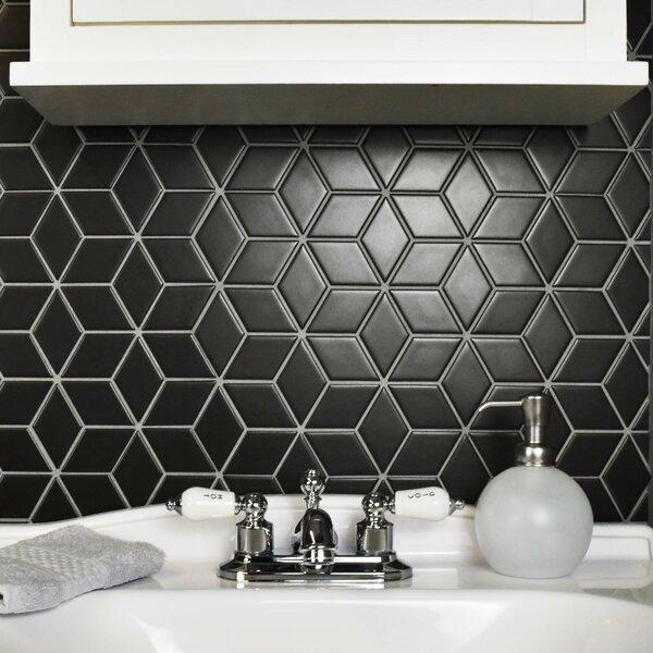 Elitetile Retro Rhombus 1 88 Quot X 3 18 Quot Porcelain Mosaic