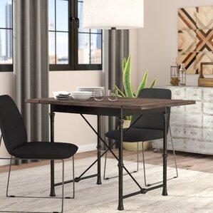 Cristal Drop-Leaf Dining Table by Trent Austin Design