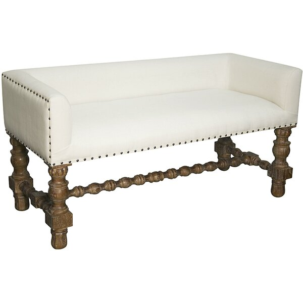 Lagos Upholstered Bench by Noir