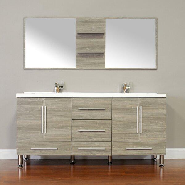 Tim 67 Double Bathroom Vanity Set