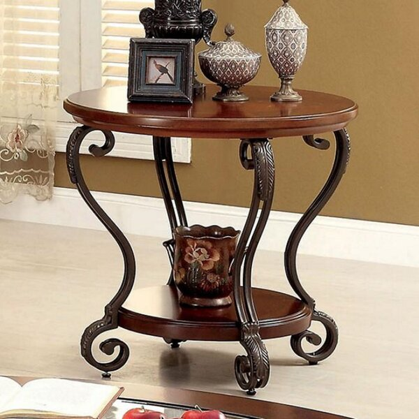 Randi End Table by Fleur De Lis Living Fleur De Lis Living
