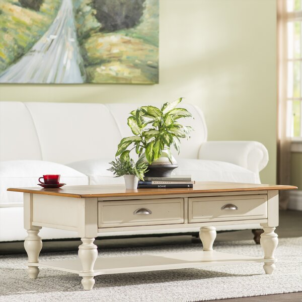 Balhi Coffee Table with Storage by Alcott Hill Alcott Hill