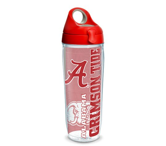 Collegiate 24 oz. Plastic Water Bottle by Tervis Tumbler